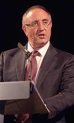 George Benson, president, Scottish Wholesale Association.