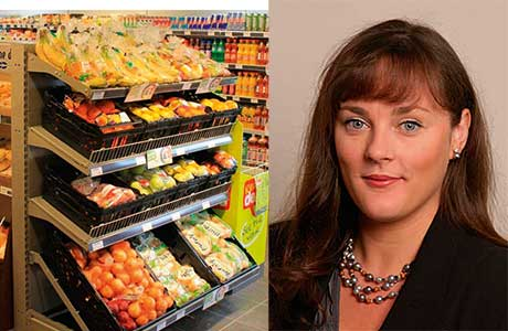 Comfort food around the New Year and detox diets after the festive period helped food sales in January increase 1.2% in like-for-like terms and 5.2% in total terms. Scottish Retail Consortium director Fiona Moriarty, above, said it was an encouraging start.