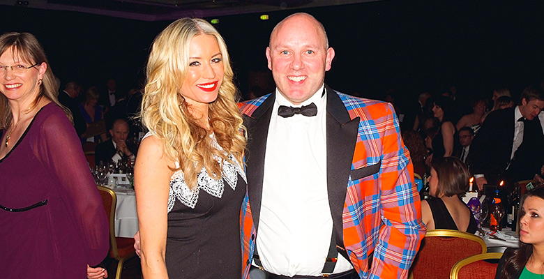 Denise van Outen and guest Scottish Grocer Awards