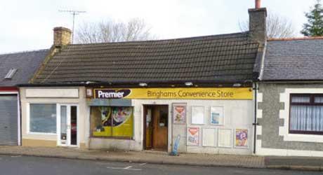 Binghams Premier Convenience Store, Glaisnock Street, Cumnock.