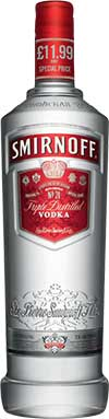 Global vodka giant Smirnoff narrowly missed regaining  Scottish off-trade vodka top spot in 2012.