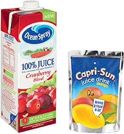 Coca-Cola Enterprises expanded its range of Ocean Spray products last year and also added a new Mango product to its range of Capri-Sun juice drinks.