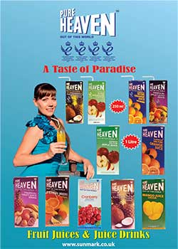 Pure Heaven from Sun Mark Ltd is exported to nearly 100 countries worldwide and is said to be the best-selling drink in many markets.