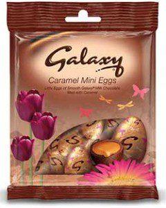 Mars Galaxy caramel mini eggs –part of the 2013 Easter range.
