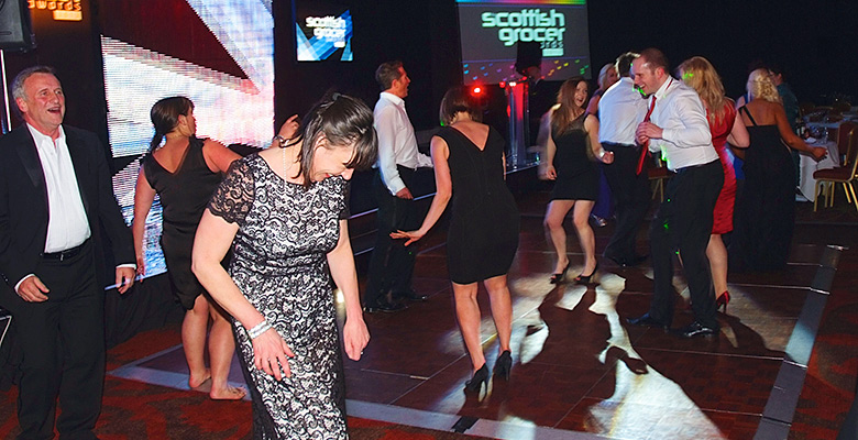 Dancefloor Scottish Grocer Awards