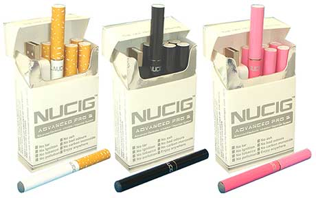 A range of Nucig kits are available including a trial kit, RRP £4.95, a mini kit at £10.99 and a deluxe kit, RRP £58.99.