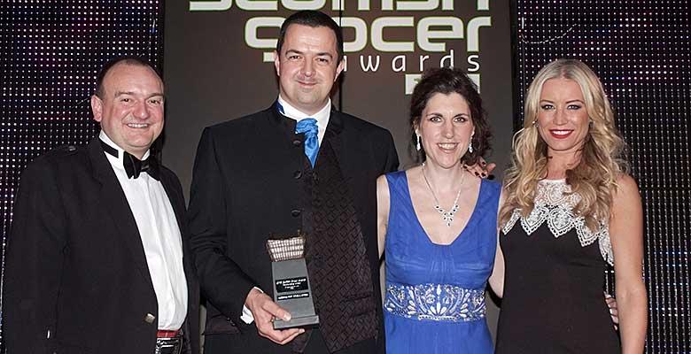 Scottish Grocer Merchandising award