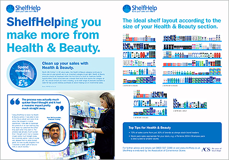 P&G's www.shelfhelp.co.uk provides c-store retailers with expert merchandising advice in health and beauty and other categories