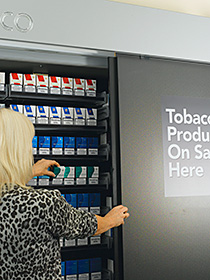 The tobacco display ban in English supermarkets has led to sales shifting from the multiples to c-stores.