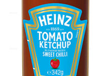 WITH an eye to the sweet chilli sauce market (said to be worth £16m), Heinz has added a hit of sweet chilli to its traditional tomato ketchup.