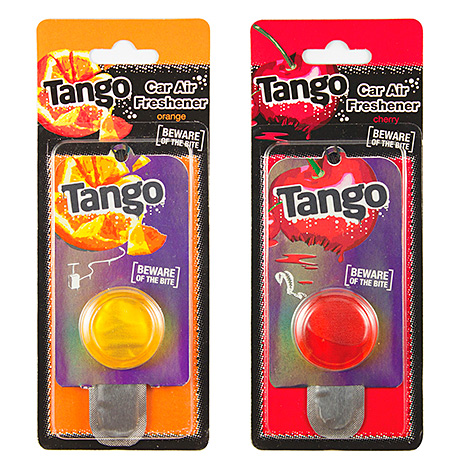 FIZZY drink-scented air freshener is the latest brand extension from 151 Products, which licenses Tango from Britvic Soft Drinks.