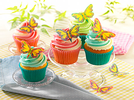 FOLLOWING the success of its edible flower cake decorations – which sold nearly £1m last year – Dr Oetker is launching a range of wafer butterflies for cupcakes and sponges.