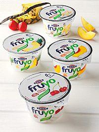 FAGE, the maker of Total Greek yogurt, has launched Fruyo, a fat-free, high-protein Greek fruit yogurt.