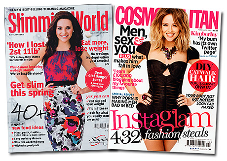 CALORIE-counting readers made Slimming World magazine the flavour of year on news stands in 2012.