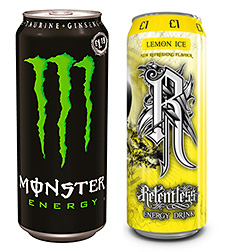 Soft drinks firm CCE began 2013 with significant promotions on Monster and Relentless.