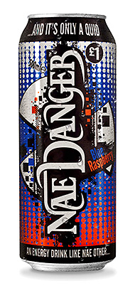 IT started as a bit of a giggle when Ross Gourlay managing director of drinks, confectionery and snacks distributor Glencrest joked with friends that Nae Danger would be a great name for a Scottish energy drink.