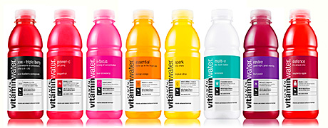 Glacéau vitaminwater, from CCE, which saw  sales grow by 34% to £16.5m last year, has been reformulated with stevia, shaving off 30 calories per bottle. All eight of the waters also have a revised blend of vitamins and minerals.