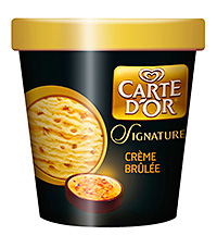 Unilever's Carte D'Or extended its range of include luxury lines in the Carte D'Or Signature Collection.