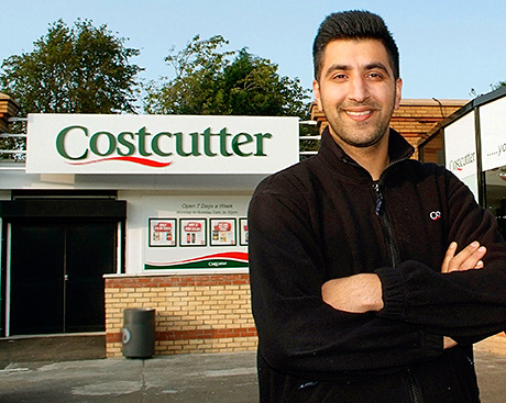 """Jay Javid, owner of Costcutter Paisley: """"We're not losing the core values. Being independent is still at the heart of Costcutter."""""""