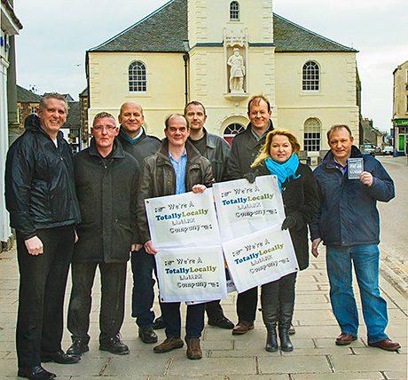 Members of Lanark Business Group launch Totally Locally Lanark.