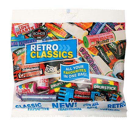 Philip Courtenay-Luck of Bonds Confectionery says retro sweets are winning over old and young confectionery fans