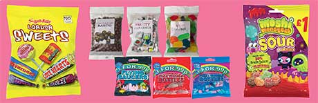 Swizzels Matlow's mixed bags, such as Loadsa Sweets, offer a treat for every taste. Their latest launch, Moshi Monsters Sour Gummies, underline value with a PMP and the health message with a prominent flash. Hancocks targets the pocket money pound with its novelty lines at three bags for 99p. Its sharing bags have more restrained, upmarket packaging with the product clearly visible.