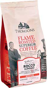 The JFK Partnership now represents the long-established Thomsons of Glasgow Tea and Coffee range.