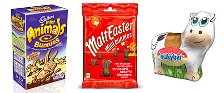 Chocolate, and wider Easter ranges, sold very well in March, helping food match the growth achieved in January.