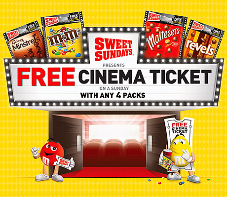 AS Holywood's latest crop of blockbusters heads for the silver screen this summer, Mars Chocolate's Sweet Sundays promotion is also set for a sequel.