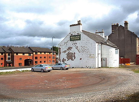 The Wallace Tavern in the Renfrewshire town of Elderslie. A c-store is planned for the site and  gained a licence to 9pm in the face of strong opposition.