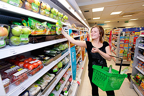 Londis has changed its fresh produce range to include price-marked packs