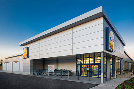 Lidl, above, and Aldi both posted record market share levels in the latest Kantar Worldpanel results.