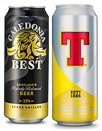 Tennent's Lager and Caledonia Best had a good year, balancing brand owner C&C's struggling cider sales.