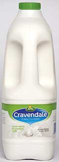 Cravendale says the milk price decline meant that overall milk sales for the year were down in value by 1%.