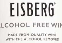 RESPONSIBLE, health-conscious consumers who are looking for a low-calorie glass are the target customers for Eisberg alcohol-free wine.