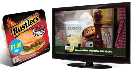 Kepak Convenience Foods – developing its range on the back of established 'Originals' like Rustlers Quarter Pounder, Rustlers Chicken Sandwich and Rustlers BBQ Rib. Its Zugo's Deli Café range is currently sponsoring ITV 2's peak-time programmes 'Telly Worth Talking About' in activity that runs until June.