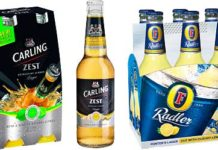 Flavour looks like being flavour of the months ahead as two of Britain's biggest beer firms offer drinkers some new tastes over summer. Molson Coors says its Carling Zest with a hint of natural citrus was such a success last summer that it has since been added to the portfolio permanently. This year it has a ginger-flavoured version of the beer as a special limited edition. Heineken's new Radler combines Foster's Lager with cloudy lemon.