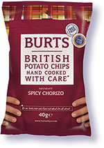 Burts Chips: The firm argues that consumers seek affordable premium at-home treats even when aiming to save money.