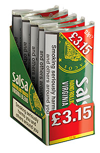 STG aims to establish Salsa as the cheapest gram for gram RYO tobacco as we head towards all tobacco retailers going dark.