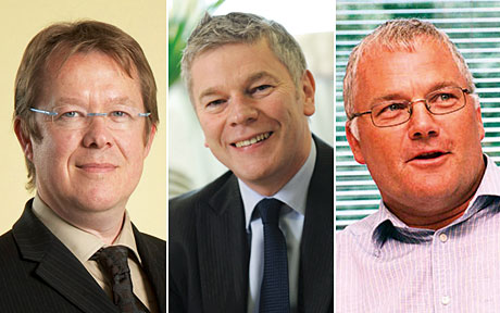 Scandinavian Tobacco Group's Alan Graham, above, left, said independents and symbols had gained share in cigars and RYO from large stores after the display ban was introduced in England. Colin Wragg, above centre, of Imperial Tobacco said category sales dropped in the immediate aftermath of the ban but bounced back, with c-stores benefitting from a shift in sales. Jeremy Blackburn of JTI, above right, said it hadn't registered a major sales shift but noted that more adult smokers in the south had added c-stores their list of places to purchase tobacco.