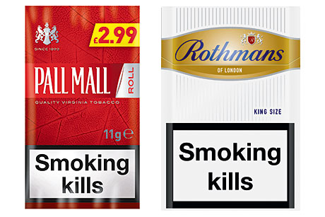 The value years. The tobacco market has been trending to value and economy brands for some time and that's something that looks set to continue. The main tobacco firms have been responding to the trend. BAT's Pall Mall RYO tobacco is now available in an 11g size designed to hit a compelling price point. The firm's Rothmans Gold and Silver cigarettes were repositioned to appeal to cost-conscious consumers too. Imperial Tobacco's latest offering to value-conscious smokers is the Players Smooth range. And after a major refresh of its RYO portfolio it offers a competitively priced 8g, papers and filters pack of GV Smooth.