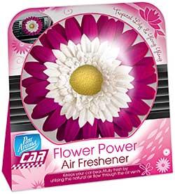 The Flower Power air freshener