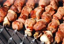 A spell of good weather in May saw sales of barbecue meats, charcoal, picnic snacks and salads increase. Food price inflation decreased and overall prices actually fell.