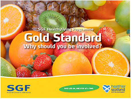 The SGF Healthy Living Programme takes the established principles of merchandising and applies them to fresh fruit and vegetables and now to other healthy produce too. It aims to deliver public health benefits and commercial success.