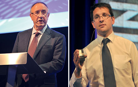 George Benson, above left, important for senior managers to explain the importance of taking carefully considered risks. James Withers, above right, never more important to tell Scotland's food and drink story.