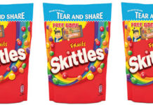 SKITTLES is joining forces with David Cameron's current favourite pastime, Fruit Ninja.