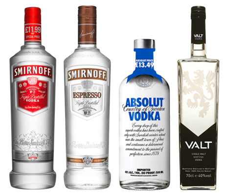 Smirnoff has added to its flavoured range with the launch of coffee-flavoured Espresso Smirnoff. Absolut vodka has launched a PMP on its 50cl size. Valt, the single malt vodka, is to appear in Sainsbury's stores in Scotland.