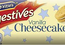 DIGESTIVE biscuits are the traditional base for a cheesecake.