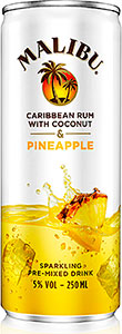 MALIBU'S latest launch, a premix with sparkling pineapple juice, was designed by the drink's Facebook fans.