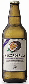 Rekorderlig has a new summer cider, Passionfruit, and stresses the significant growth in fruit-flavoured ciders.